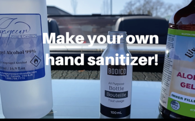 Make your own hand sanitizer!