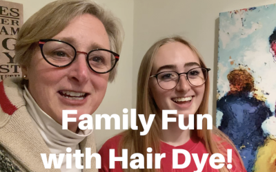 Family Fun with Hair Dye!