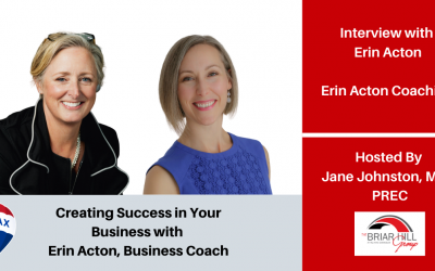 Creating Success in your Business with Erin Acton!