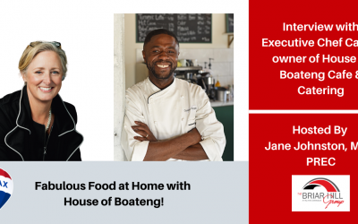 Fabulous Food at Home with House of Boateng!