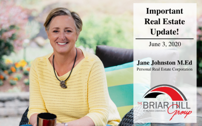 Important Real Estate Update June 2020