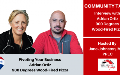 Pivoting Your Business, Adrian Ortiz Owner of 900 Degrees Wood-Fired Pizza